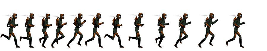 Как сделать анимацию ходьбы в юнити