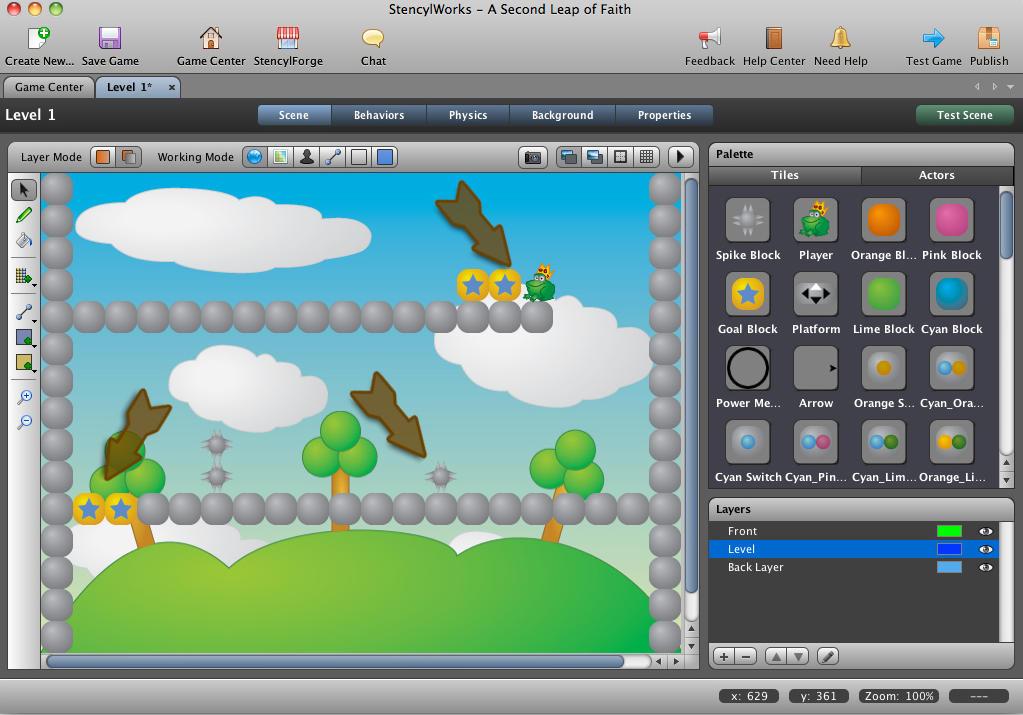 Stencyl - конструктор для создания 2D флэш игр - 6 Апреля 2012 - Развлекательный сайт для программистов-игроделов