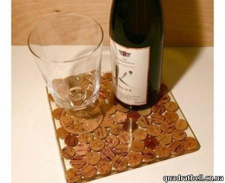 Поделки из пробки шампанского и вина