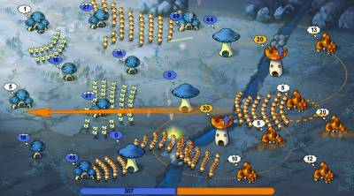 Mushroom Wars RUS